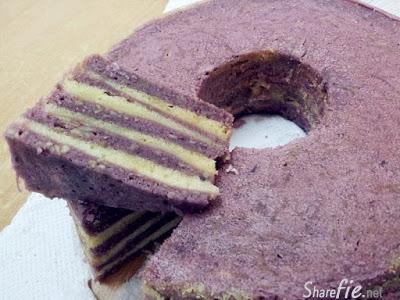 芋丝千层蛋糕 (蒸)