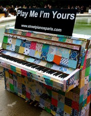 弹我!我是你的,20张世界各地缤纷多彩的室外钢琴