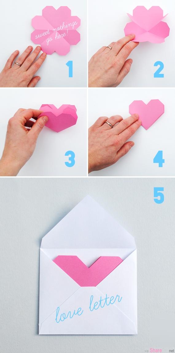 教你制作简单精美情人节小卡片,写上满满的爱,为你的情人节礼物加分
