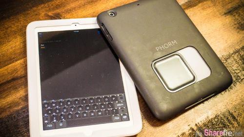 这个平板屏幕上凸起来的东西不是水珠,它是最新发布的能开关的实体键盘按钮