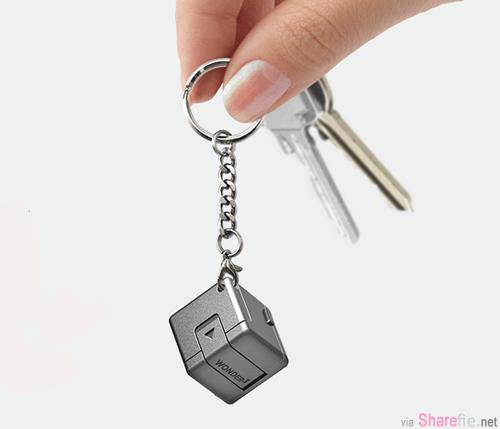 USB钥匙 WonderCube 魔術方塊 ,麻雀虽小,但有挺多功能哦