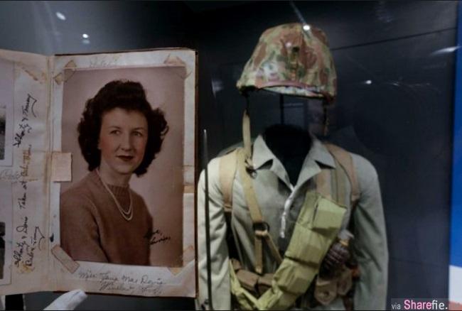 70年來音訊全無,老婦在博物館內發現初戀男友軍中日記,內容全是「她」