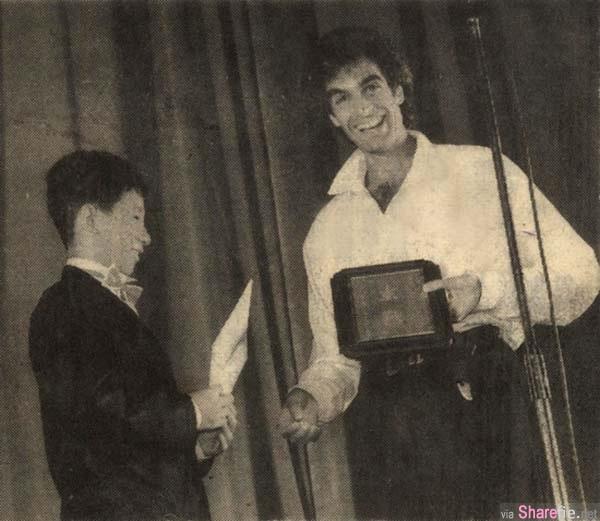 刘谦与大卫·科波菲尔 David Copperfield 27年前合影对比 网友赞:好励志