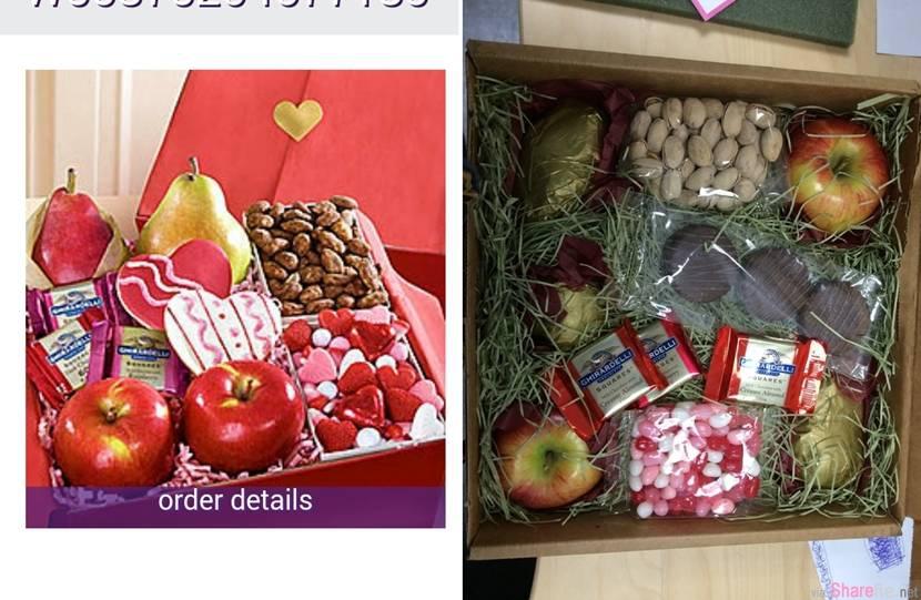 13张照片告誡你,網上訂花要小心,尤其是在情人節的时候...