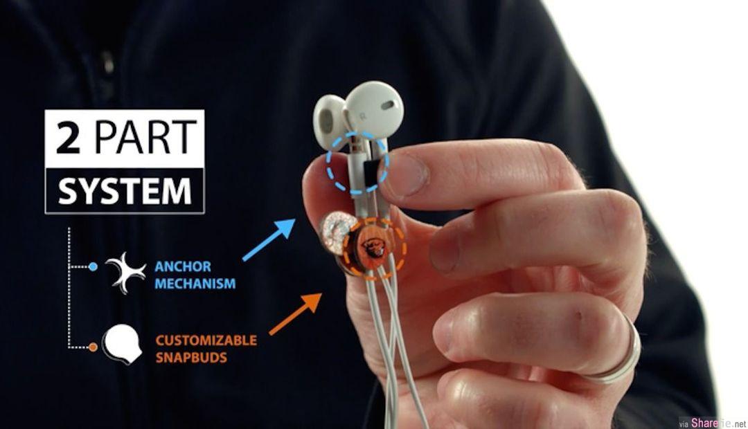 听歌最恼人的就是从包包拿出耳机,看到打了很多结的线,这家公司想出一个解决耳机打结的方法,可是...