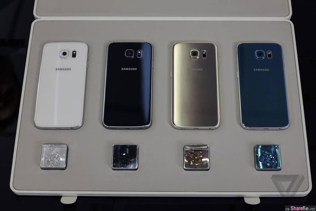 Samsung三星最新旗舰手机 Galaxy S6 和 Edge 正式发布