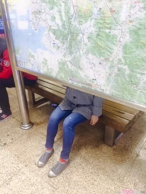 《匪夷所思的休息椅》,要人家这样坐有点害羞