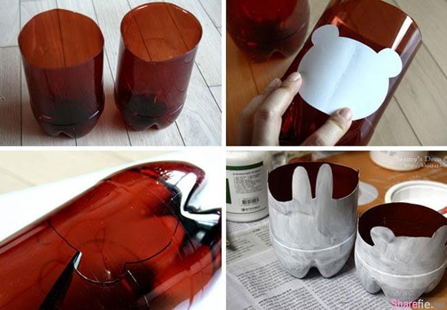 有些人把用完的塑料瓶子丢弃,但有些人却把它变成了这24样超实用的艺术品