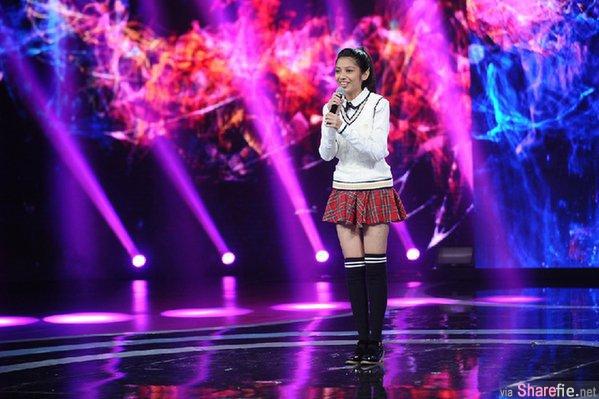 《中国梦想秀》来自马来西亚槟城的李佩玲, 勇敢的站上舞台,好声音惊艳了全场