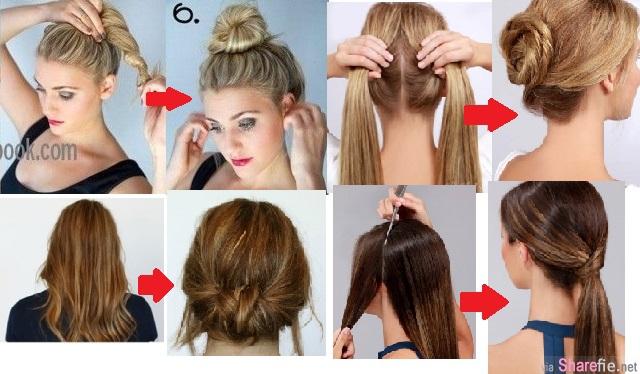 只要用「轉」的就可以多一個造型?5種超簡單變髮妙招