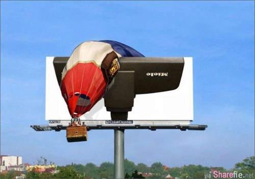 20个创意有趣的街头广告板