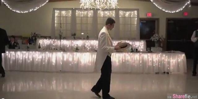 这位新郎为了给宾客一个惊喜,准备了一只超好看的舞蹈表演,没想到新娘后来竟然...