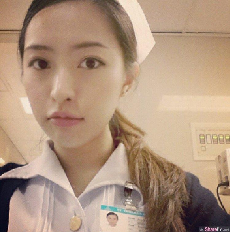 超有气质!香港正妹小护士美照遭疯传