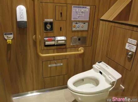 实拍日本洗手间:竟然有这么多的玄机!