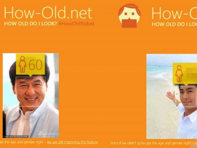 網友们玩瘋How Old net 《你的臉幾歲》哎呀~原來我和林志穎的結果一样啊~傻眼了