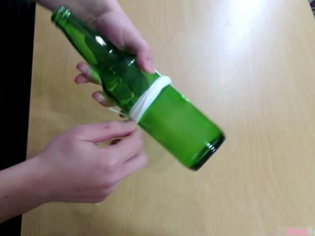 教你如何切割玻璃酒瓶,改造成杯子或精美的吊灯