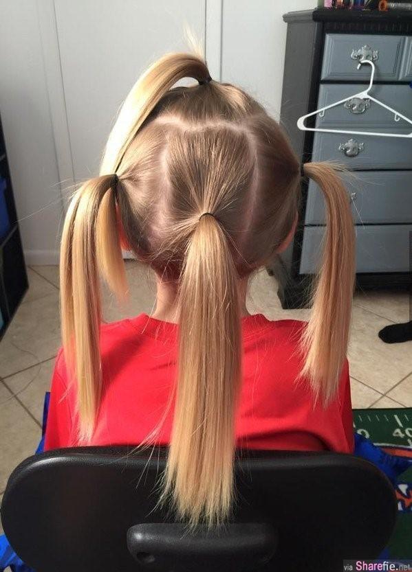 8歲男孩為留長髮2年來備受嘲笑霸凌,最後剪髮才發現他如此偉大