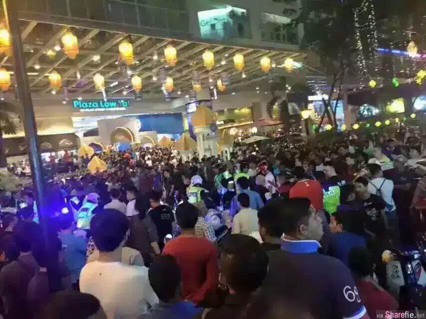 Lowyat Plaza 群殴(近距离影片曝光)!男子不甘偷手机被捕纠众砸场报复,反招群众与店员围殴