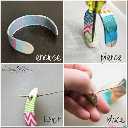冰棒吃完别丢掉!教你把冰棒棍煮熟再烘烤,就可以变身成为超亮眼的色彩手环