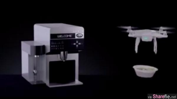 韩国出现跨时代的新发明——泡面饮水机,只要把还没拆开的快熟泡面放进去就可以吃啦