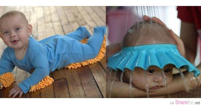 12个简单创意的宝宝用品,那个黏在鞋子里的粘纸觉得好实用