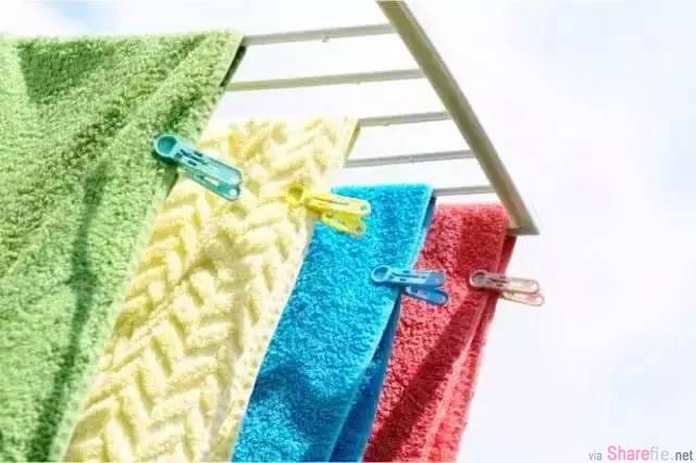 毛巾总是隔几天就有异味了,看这里的妙招准能帮到你!