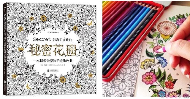 你涂色了吗?治愈填色本《秘密花园》,一本可以让人减压的魔力书 [附涂色攻略和高清下载]