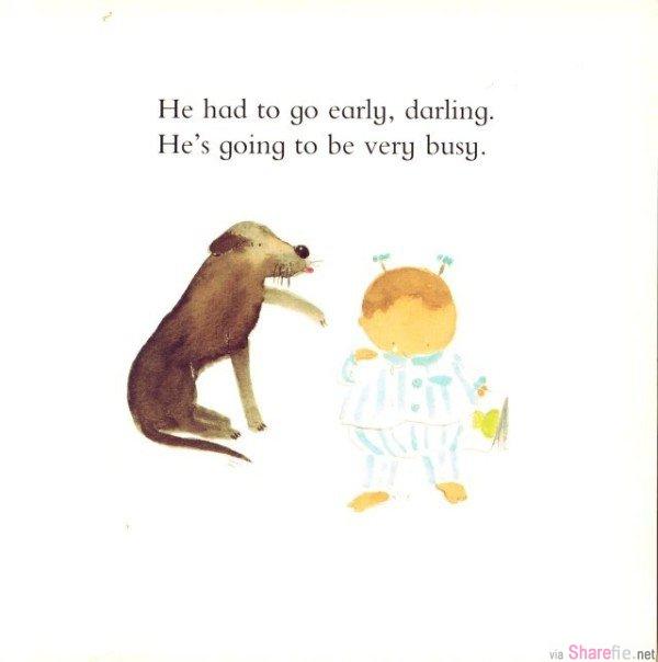看哭了无数爸爸的英国绘本《小豆子》,有一种痛叫追悔莫及!