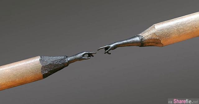 艺术家Jasenko Dordevic超惊人的铅笔雕刻