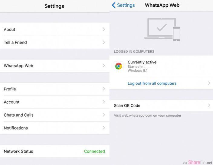 苹果iphone用户 现在可开始使用Whatsapp网页版了