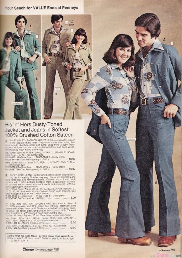 20张各年代的牛仔裤照片带你翻阅142年的牛仔裤历史