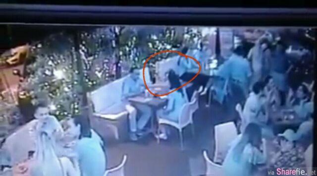 KL Bangsar抢劫案,餐厅座无虚席!匪徒竟然这样抢走女生包包……