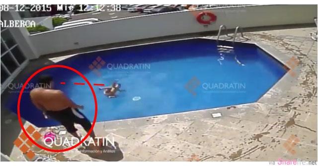3岁女童离奇溺毙 警方调出泳池监视器画面,竟然发现意外的惊人真相却是...