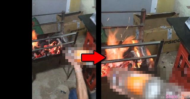 脸书疯传升火神技!网友:中秋烤肉就靠它了