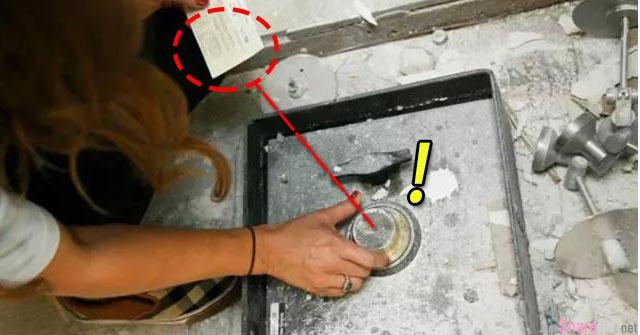 美国夫妇装修房子厨房时,竟然意外发现神秘保险柜,打开一看 哇!不得了 完全惊呆