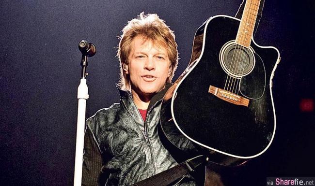 美国知名摇滚乐团邦乔飞(Bon Jovi)深情演绎 月亮代表我的心 网友:我竟然听到哭