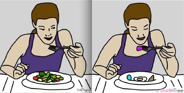 """超准!从""""吃饭""""习惯就能看出性格背后的惊人秘密!第二个真的太准,完全把我看透了...."""