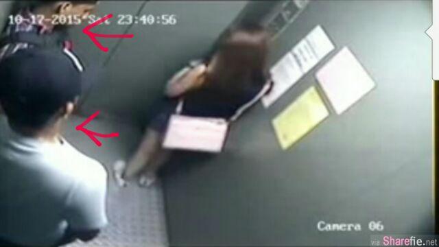 妙龄少女独自搭电梯遭两名男子抢劫,除了抢走约RM8000财物,更叫人愤怒的是还把女生的两颗牙打落