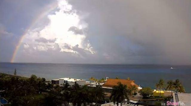 46秒的缩时摄影 让你见识彩虹从模煳到出现的美丽倩影