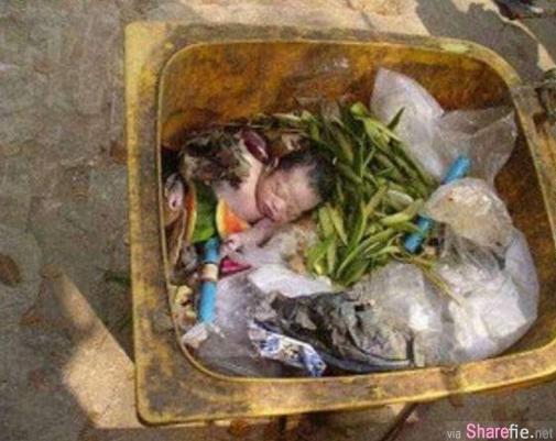这名流浪汉在垃圾桶捡到被丢弃的女婴,决定独力抚养她, 8年里过着这样生活