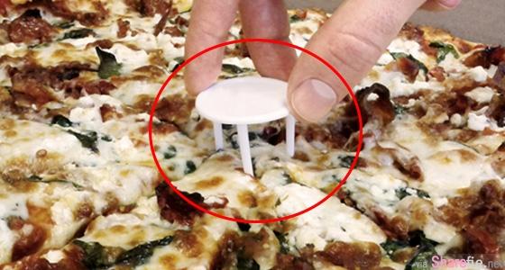 为什么披萨中间要放一个小架子?吃了这么多年现在才明白!它竟然是为了....