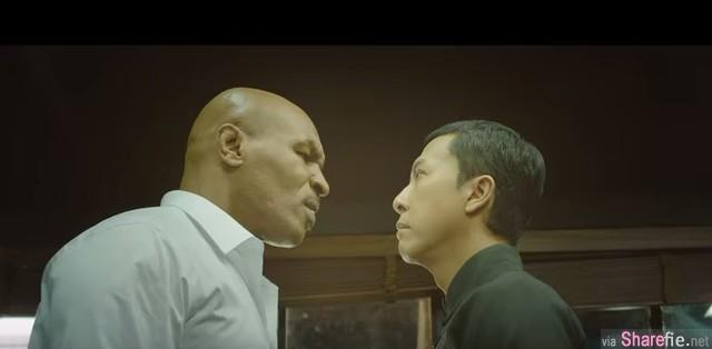 等了5年《叶问3》强势回归 预告片曝光 拳王泰森对决甄子丹