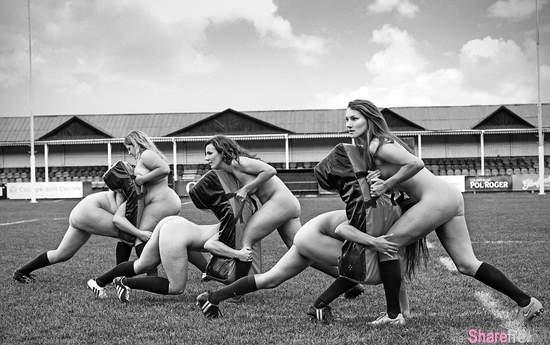 牛津大学《女子橄榄球队裸月历》健美女孩就是如此赏心悦目