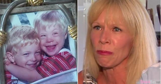 18年前,妈妈以为怀的是正常双胞胎;18年后,她除了哭泣还是哭泣