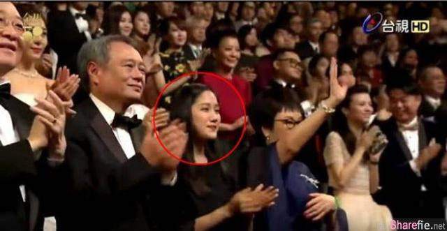 这位美女是谁?金马奖有网民发现她竟然坐李安、郭富城隔壁! 原来她是...