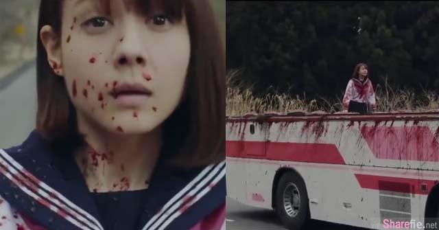 日本惊悚恐怖片女高中生巴士捡笔下一秒血腥断头 谷阿莫6分钟解答故事背后隐藏的人生哲理