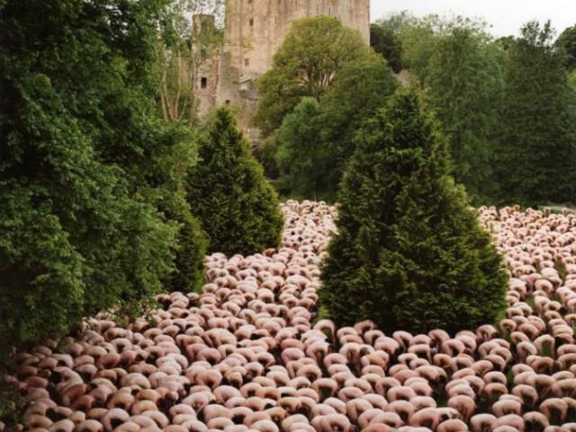 美国裸体摄影师 Spencer Tunick,震撼视觉的「裸体大游行摄影」[多图]