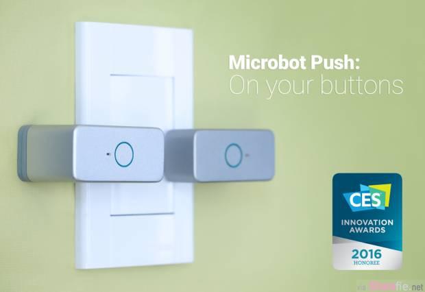 智能「按钮机」 用手机遥控按钮开关 不必改装就能把现有家居智能化