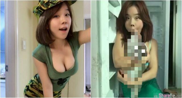 爆乳韩国妹扮美人鱼 咸湿「舔鱼头」 网友:为何放弃治疗