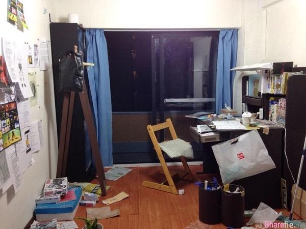 这是一张日本学生的杂乱房间,你看得出有什么问题吗